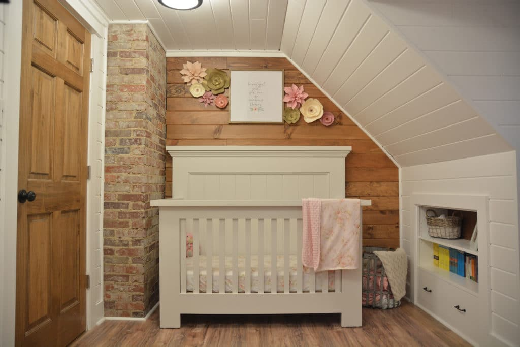 Shabby Chic Farmhouse Inspired Nursery - Project Nursery