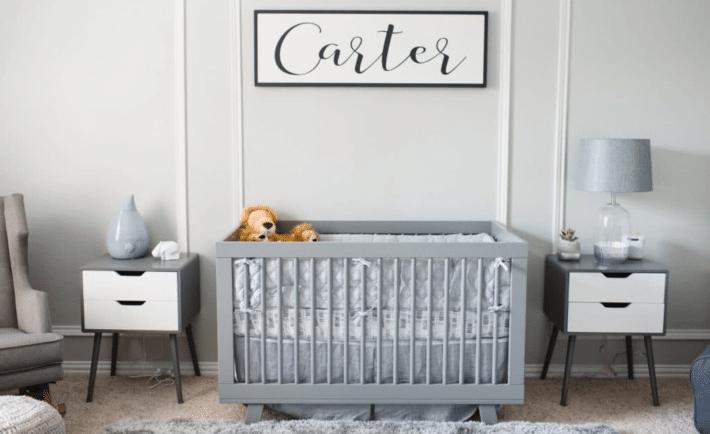Gray Classic Boy Nursery