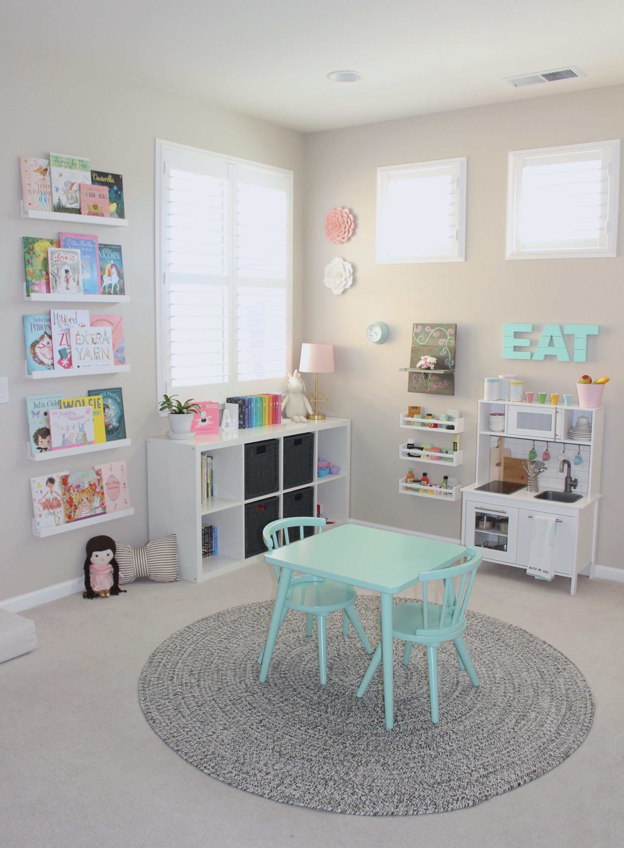 Pretty in Pastels Playroom Project Nursery