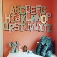 photo of Alphabet Wall
