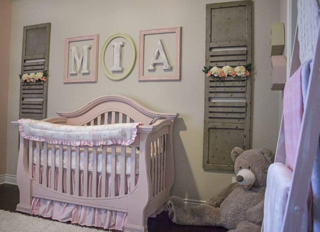 Shabby Chic Baby Girl Nursery Project Nursery