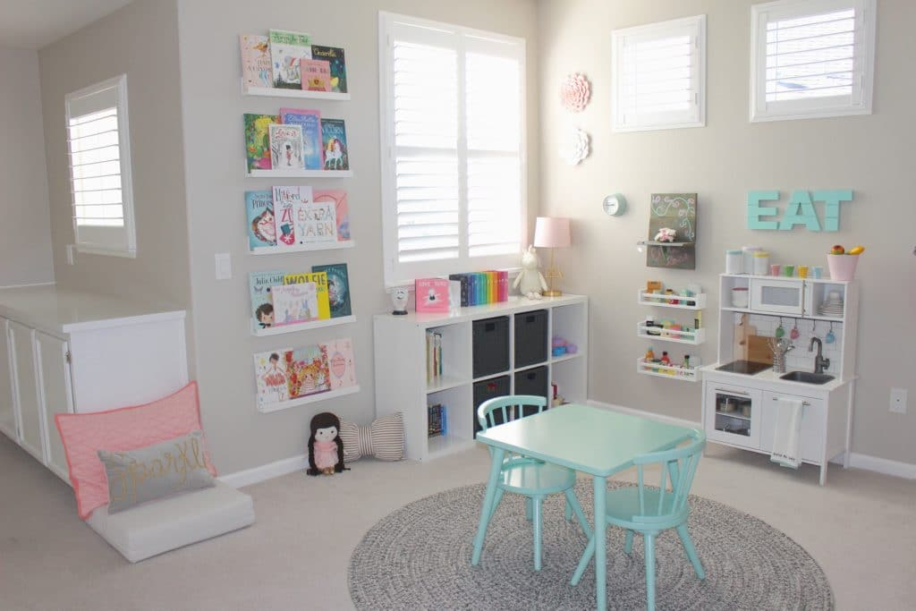 Pretty in Pastels Playroom