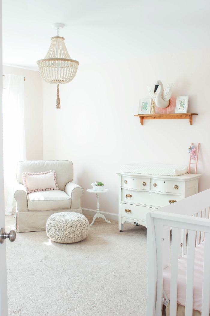Sweet Blush Pink Nursery Project Nursery