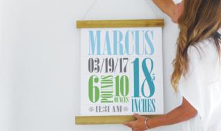 DIY Poster Hanger
