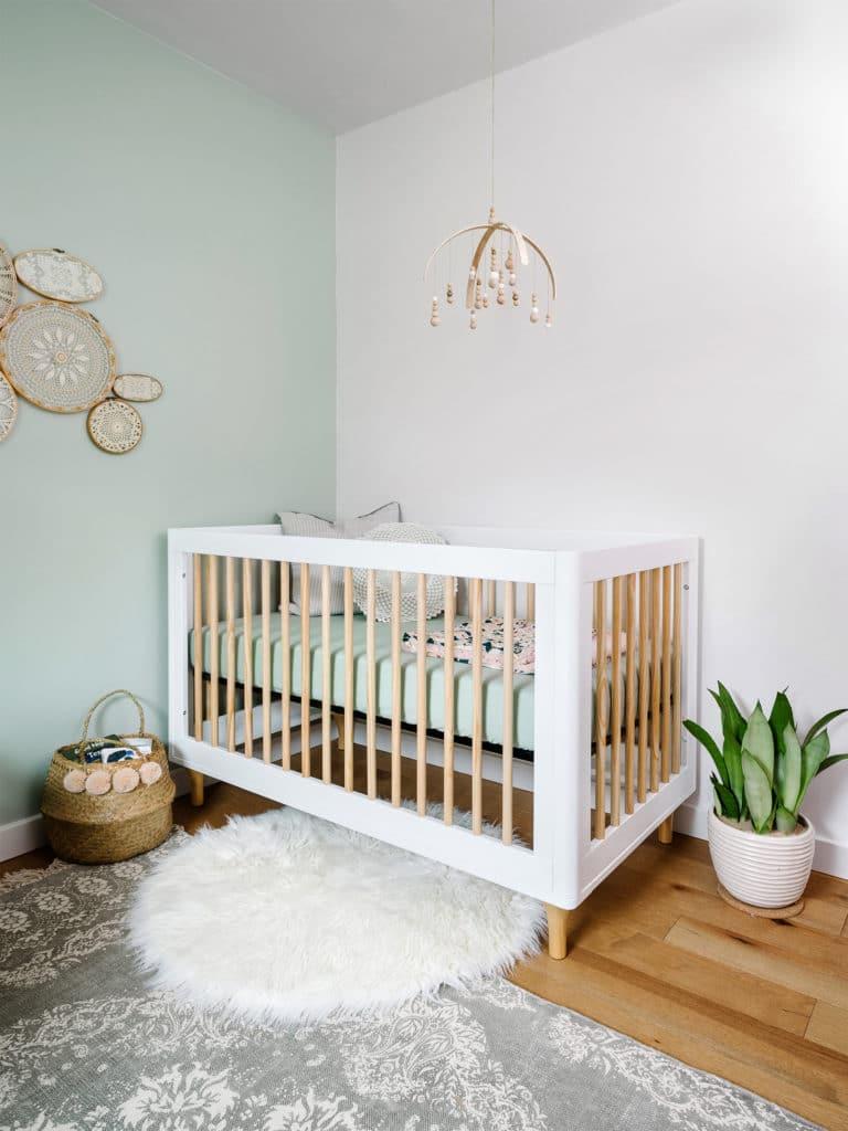 Sophisticated Scandi Inspired Nursery Project Nursery