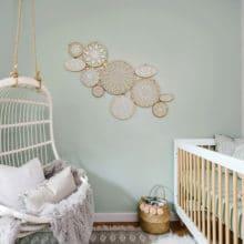 photo of Sophisticated Scandi Inspired Nursery
