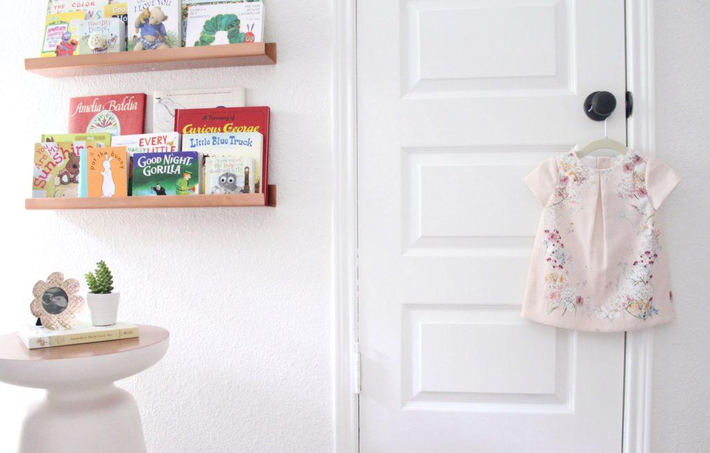 Serene, Neutral Girl Nursery inspired by Nature