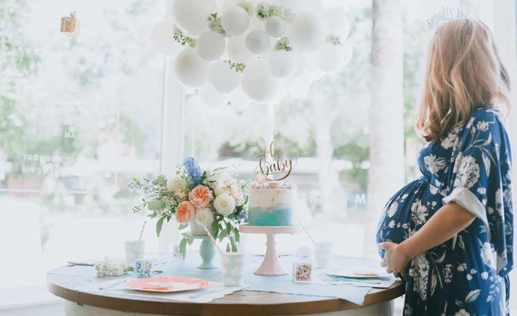 Up, Up and Away! A Hot Air Balloon Baby Shower - Project Nursery