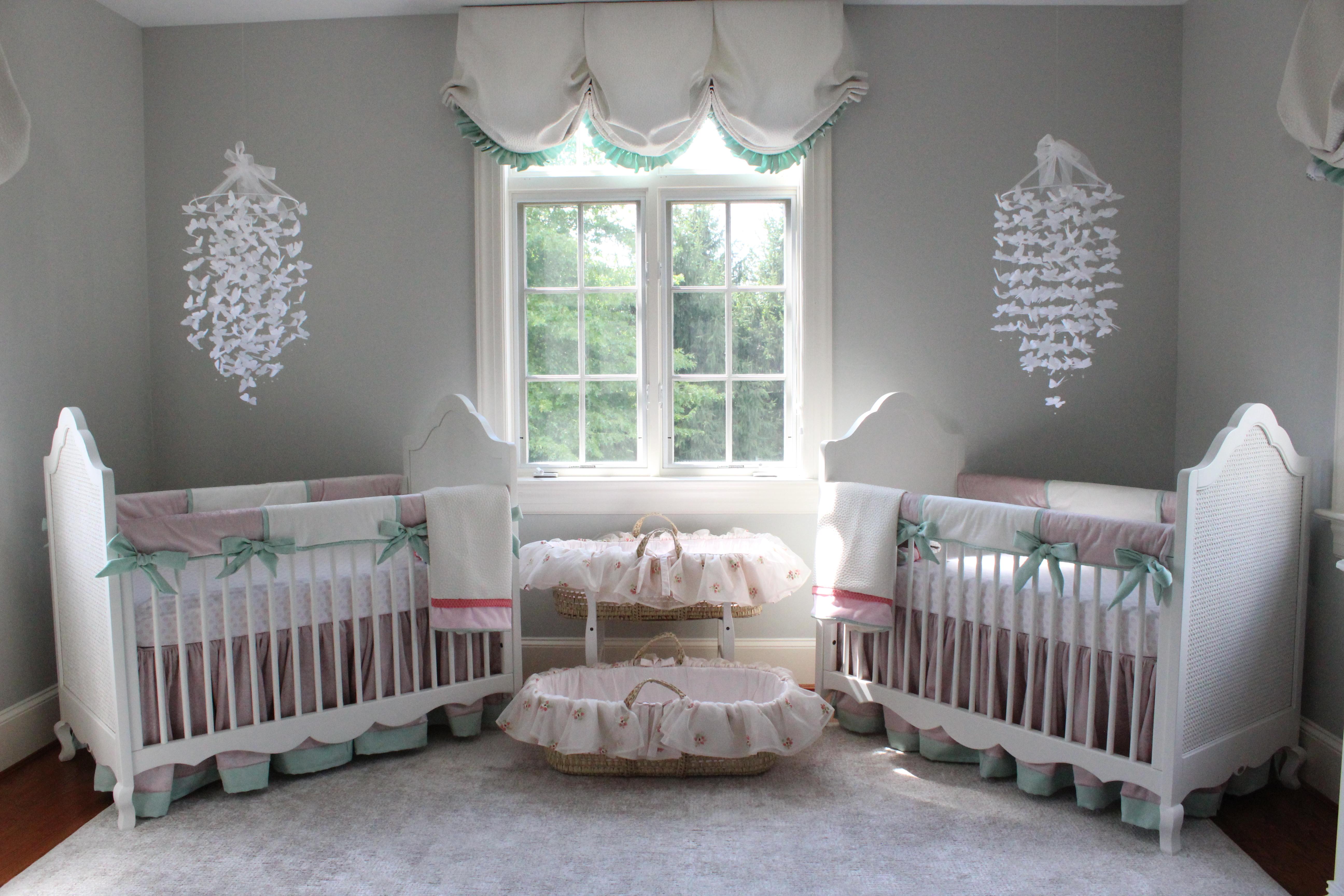 Katz Twin Nursery Reveal Project Nursery