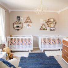 photo of Modern Boho Geometric Nursery