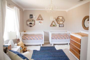 Modern Boho Geometric Nursery