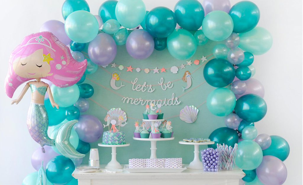 Splash On Over To This Adorable Mermaid Party Project
