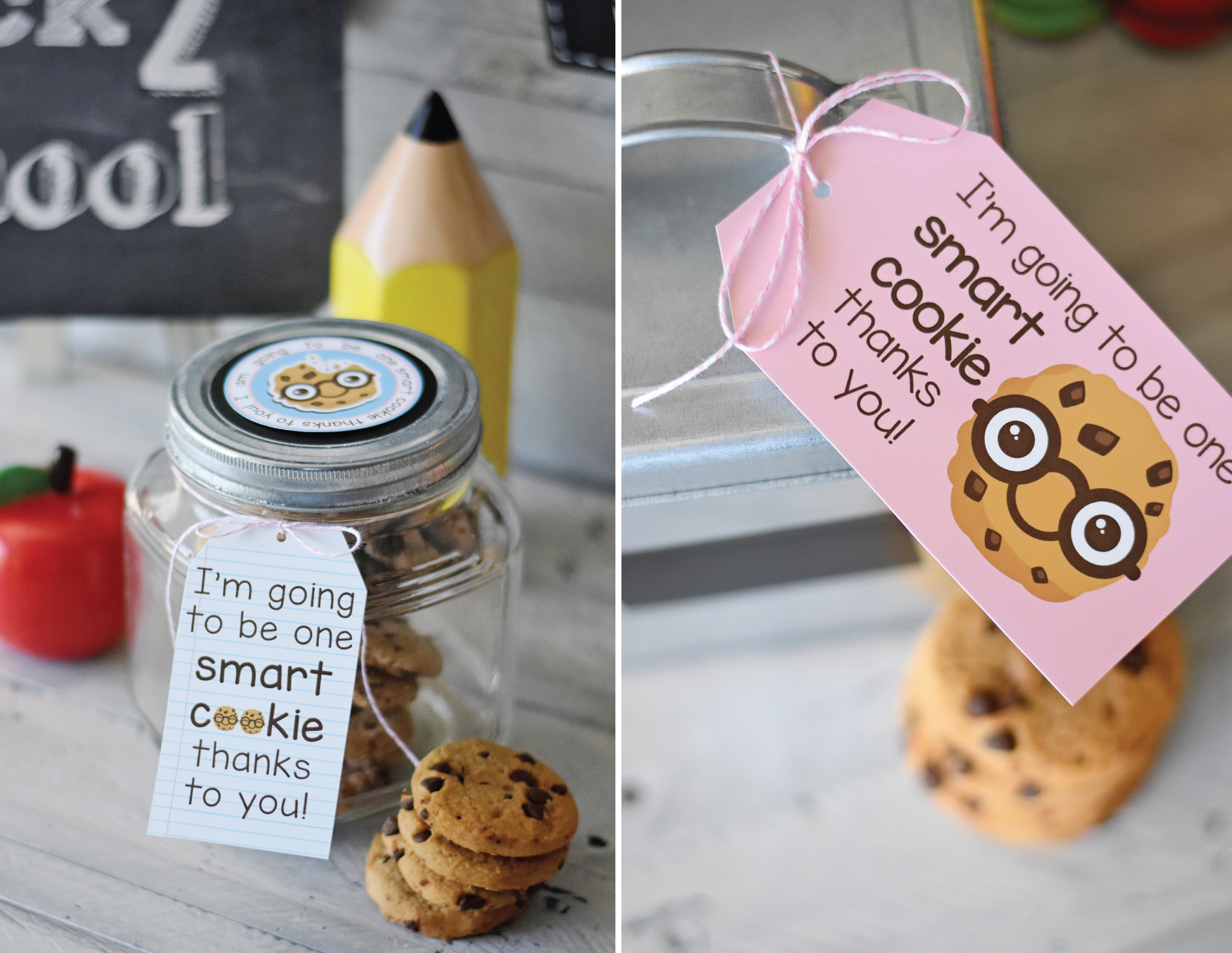 Cookies Back to School Teacher Gift