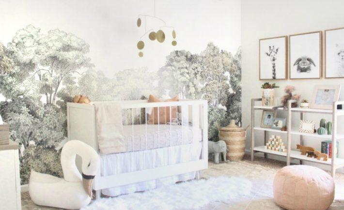hero Serene, neutral girl nursery inspired by nature