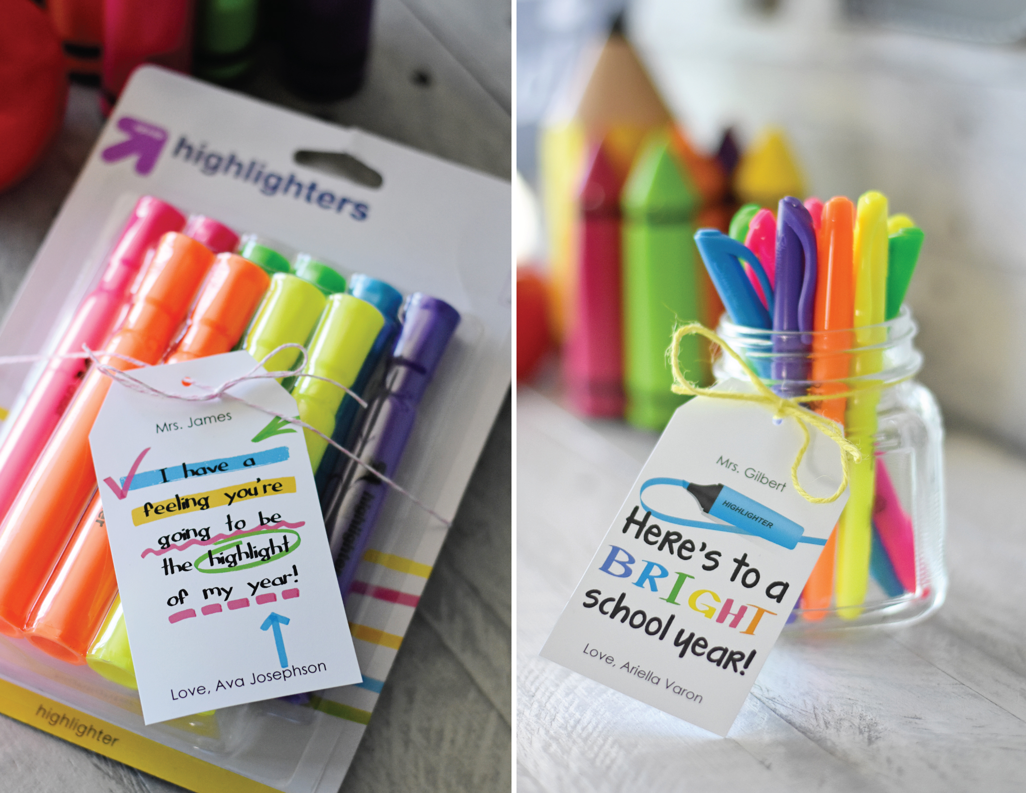 Highlighter Back to School Teacher Gift