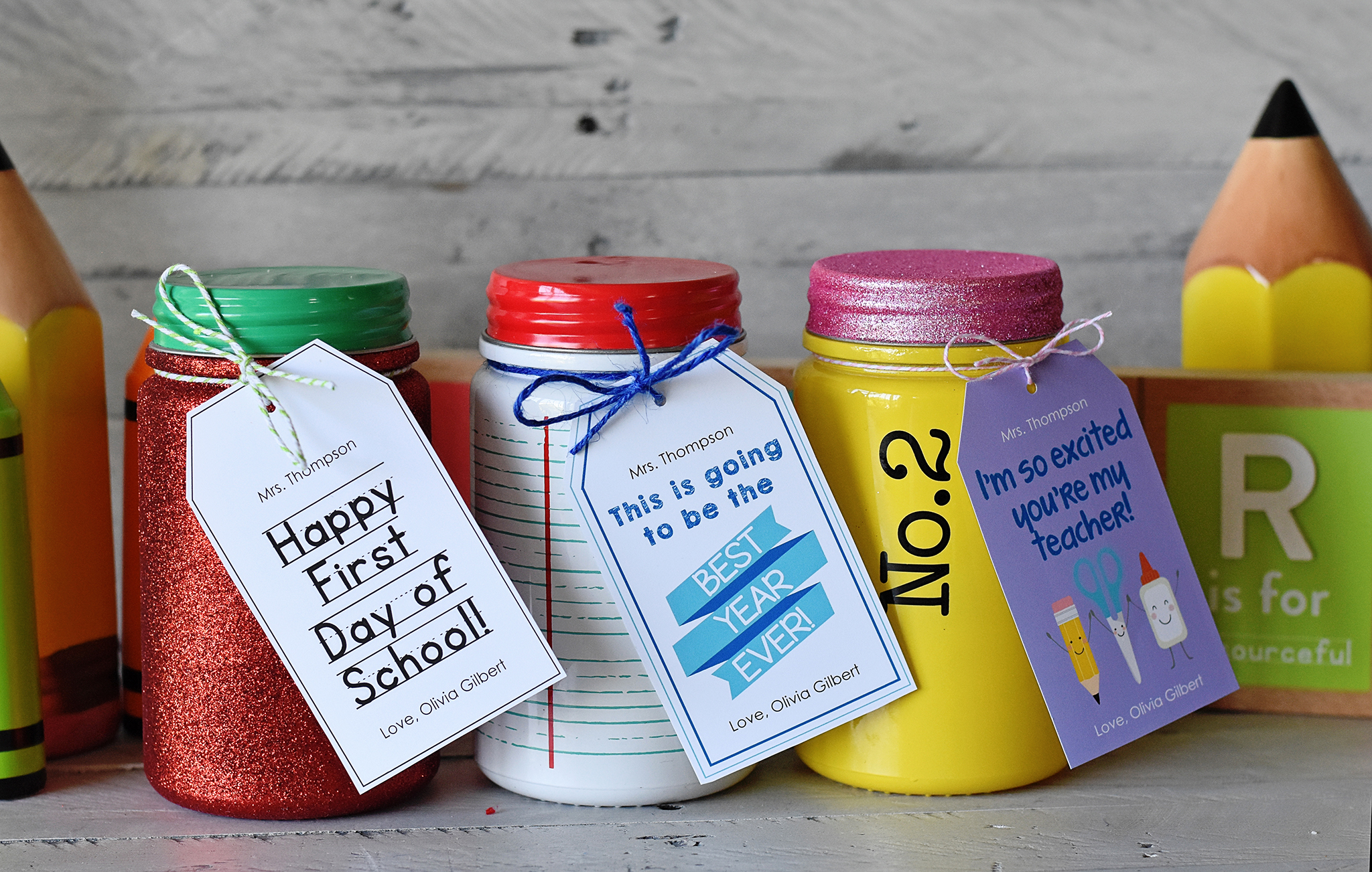 Happy First Day of School Gift Ideas!