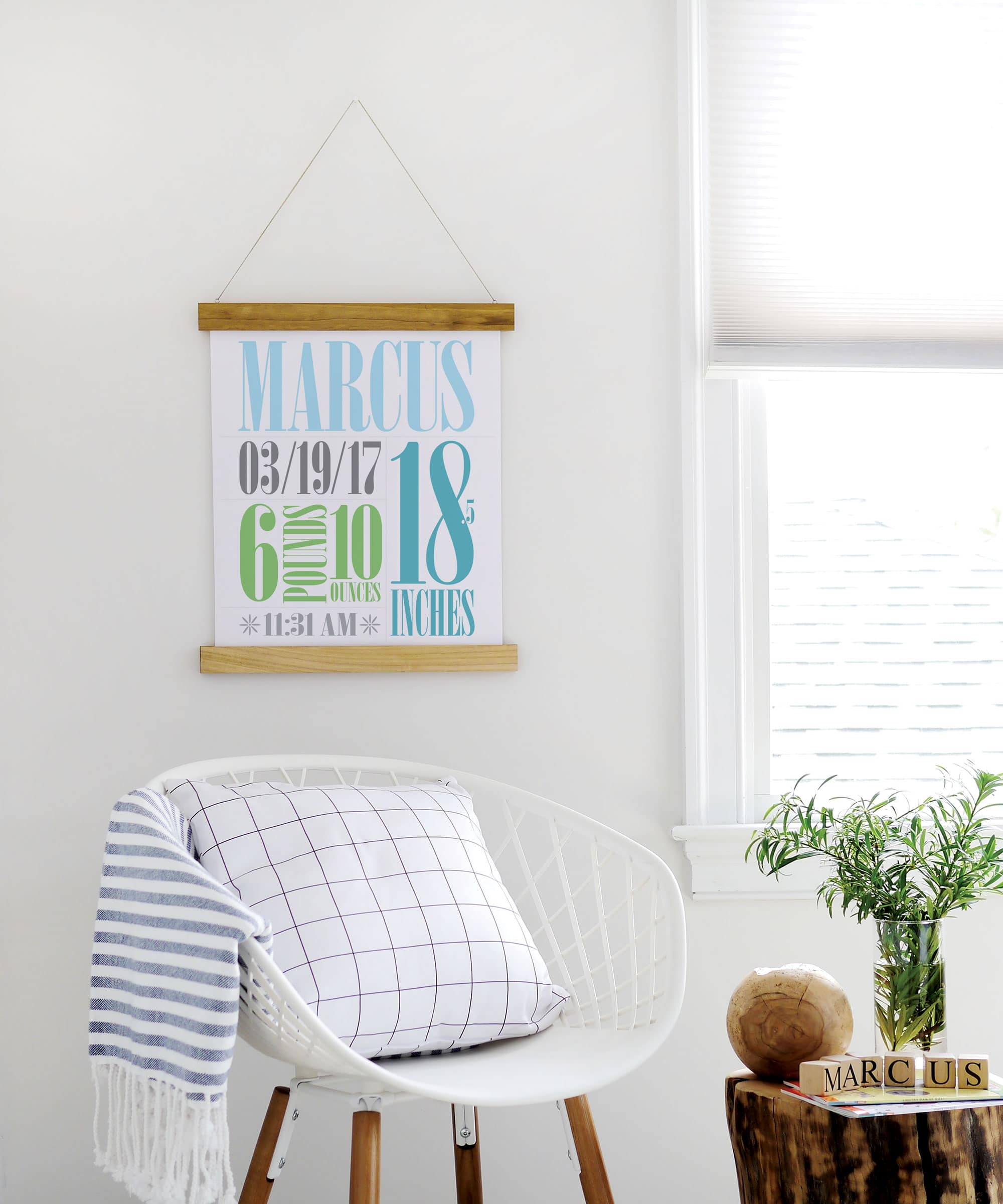 DIY Poster Hanger Tutorial