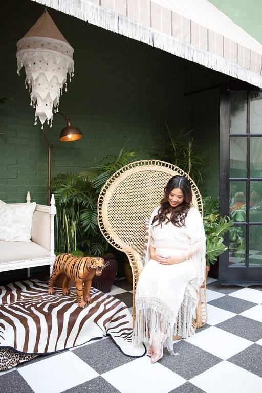 Born To Be Wild A Boho Safari Baby Shower Project Nursery