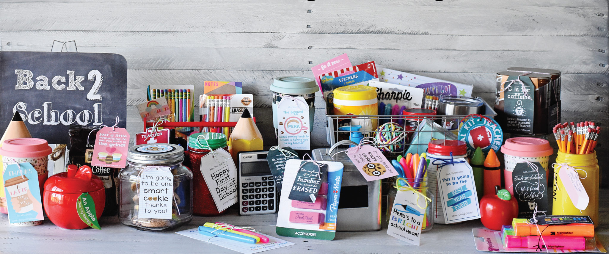 8 Ways To Say Welcome Back With Diy Teacher Gifts