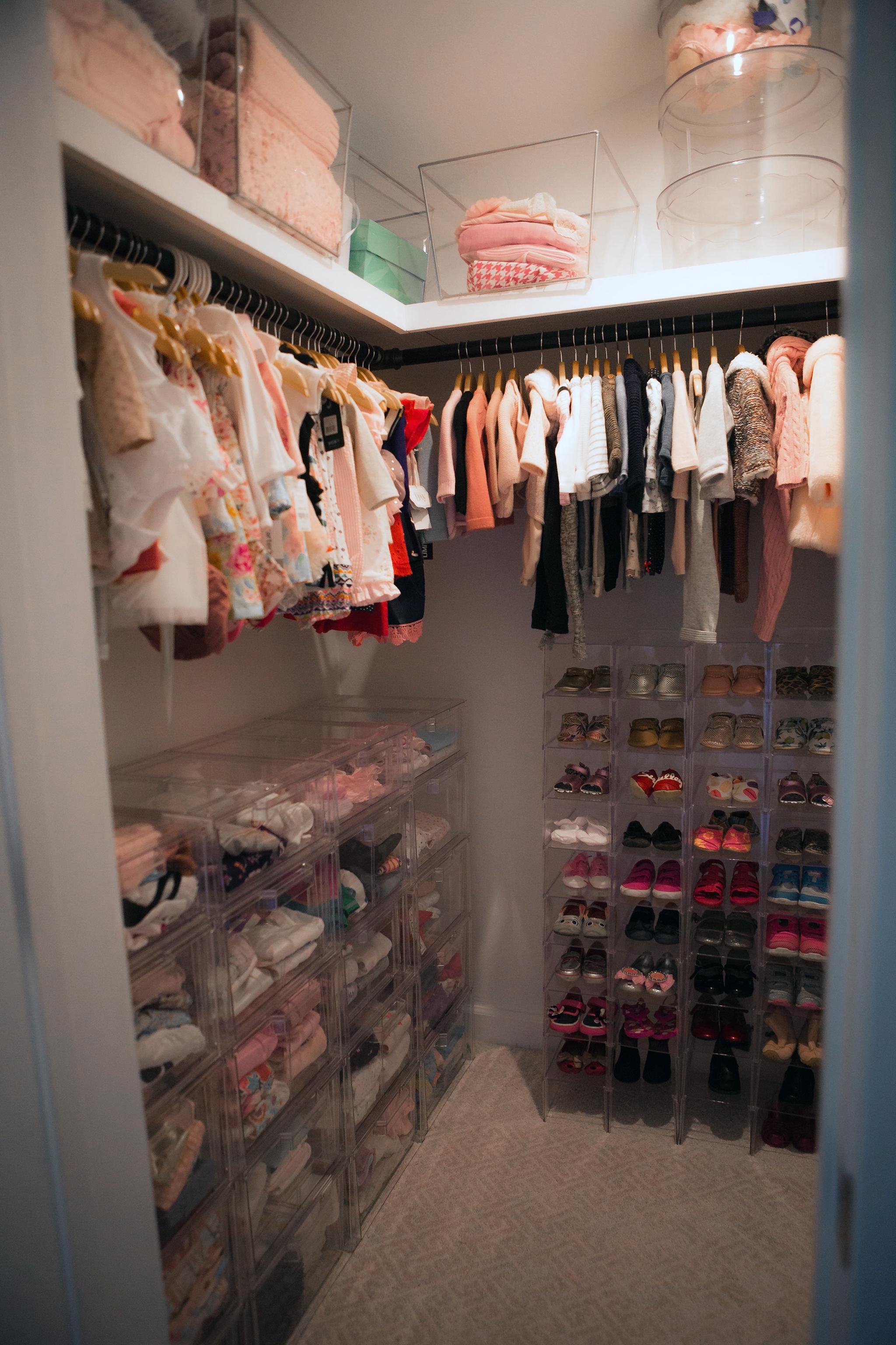 Jenni Pulos Nursery Closet