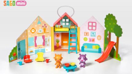 Sago Mini Portable Playset: Jinja's House