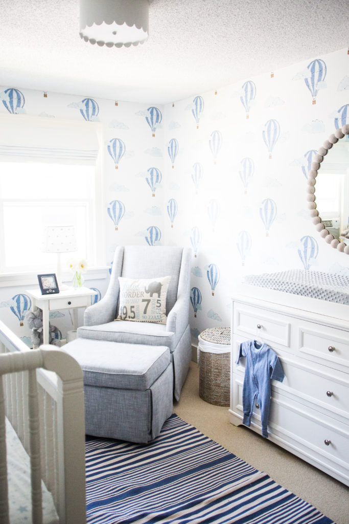 Up Up and Away: A Baby Boy's Nursery | Bria Hammel Interiors
