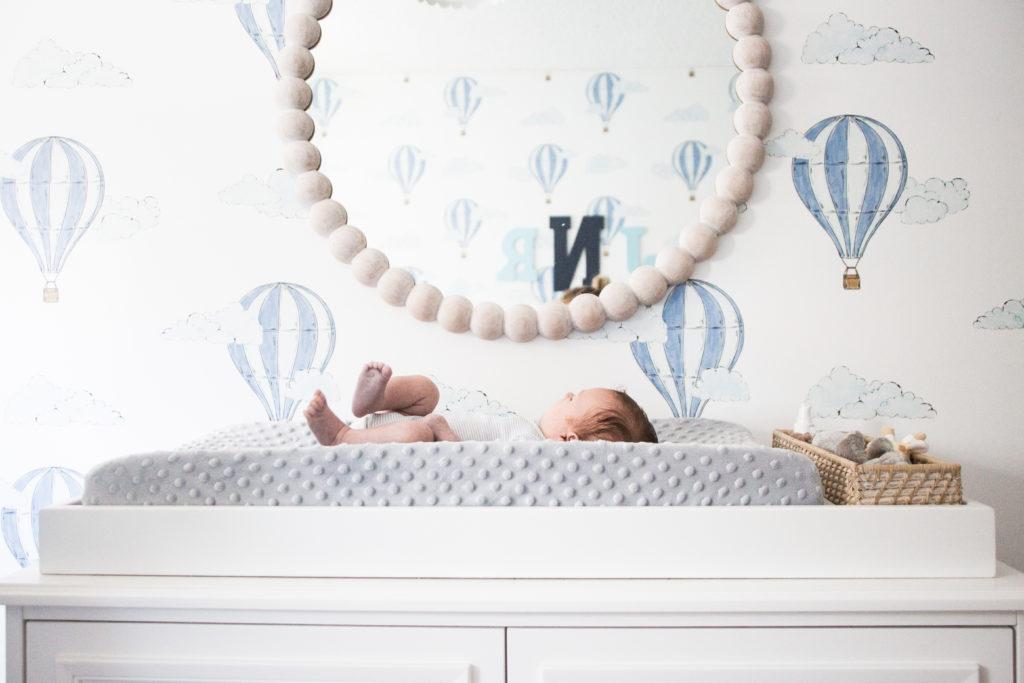 Up Up and Away: A Baby Boy's Nursery | Bria Hammel Interiors
