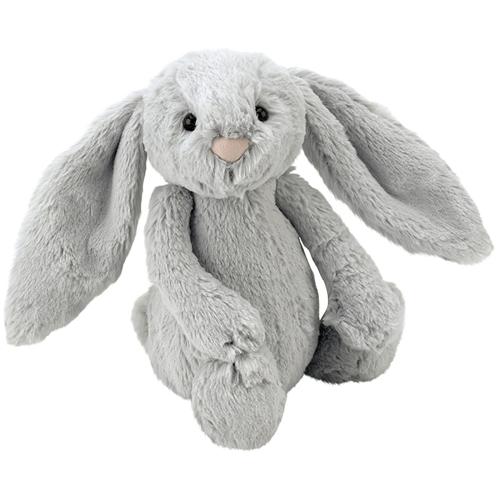 Gray Bashful Bunny