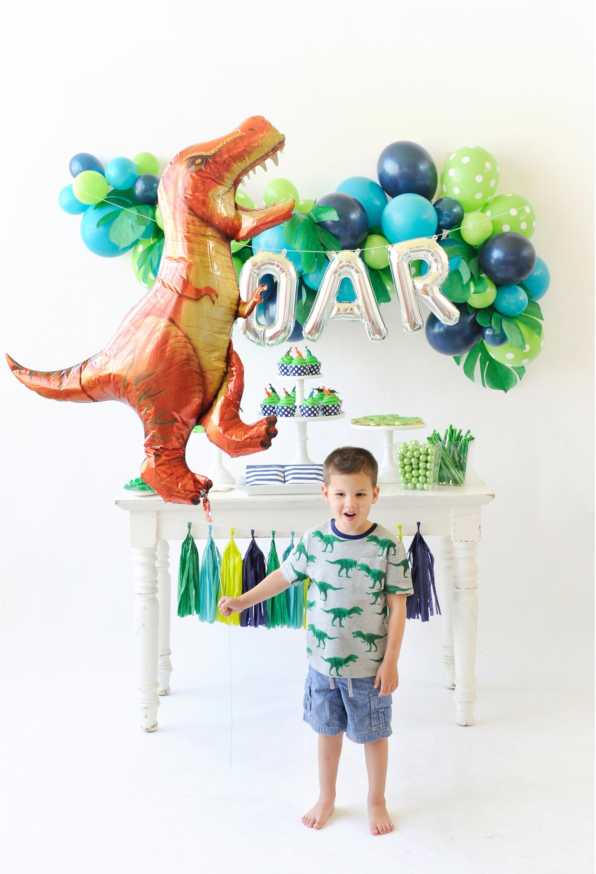 Dinosaur Birthday Party - Project Nursery