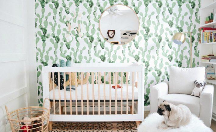 Hero Llewyn's Cactus Boho Modern Nursery