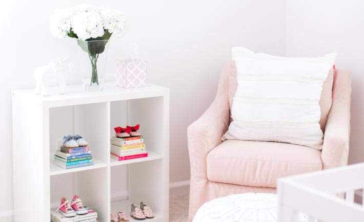 Lemon Stripes Pink Nursery