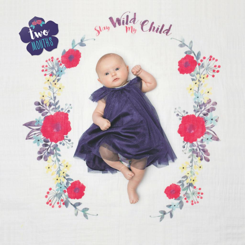 Baby Milestone Blanket - The Project Nursery Shop