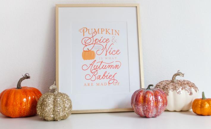 Pumpkin Spice Free Printable