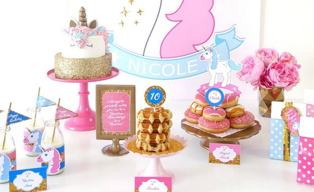 Readers Favorite Unicorn Birthday Slumber Party