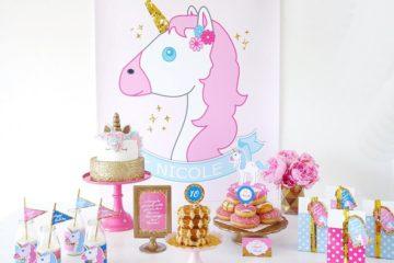 Unicorn Birthday Slumber Party