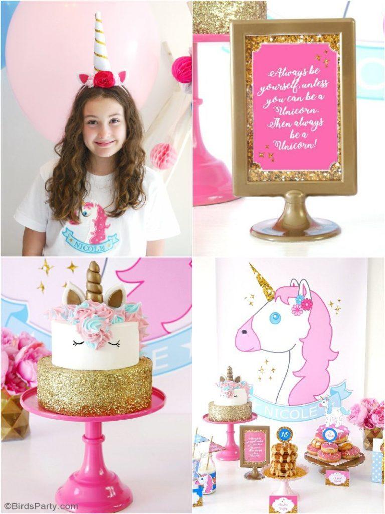 Unicorn Birthday Slumber Party Project Nursery
