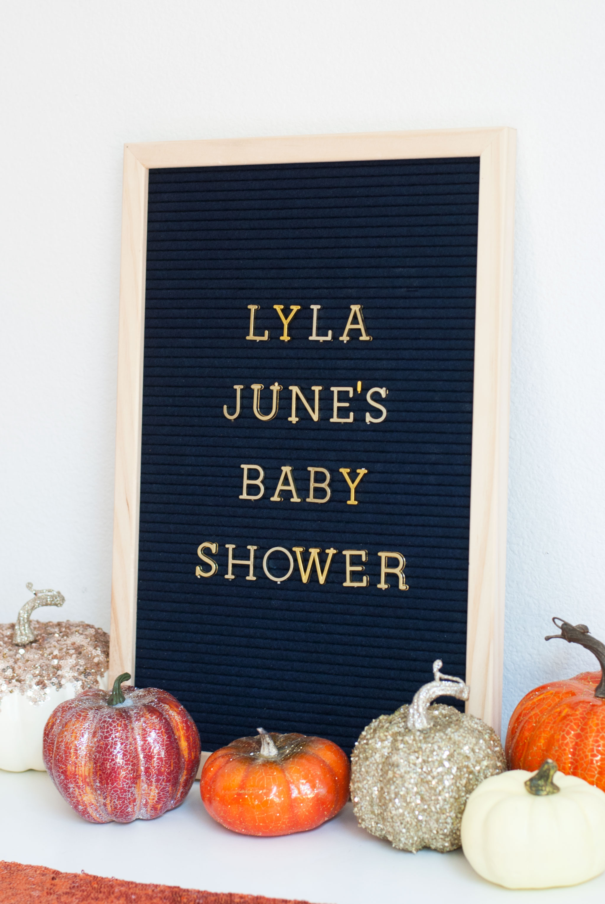Pumpkin Spice Baby Shower