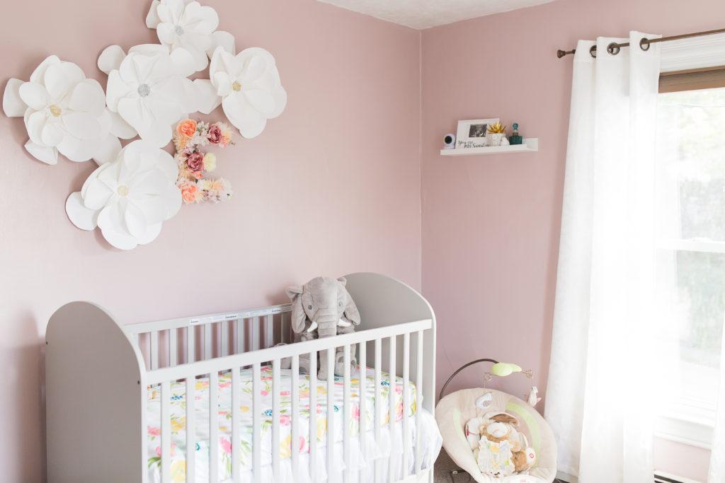 Light and Bright Chic Nursery