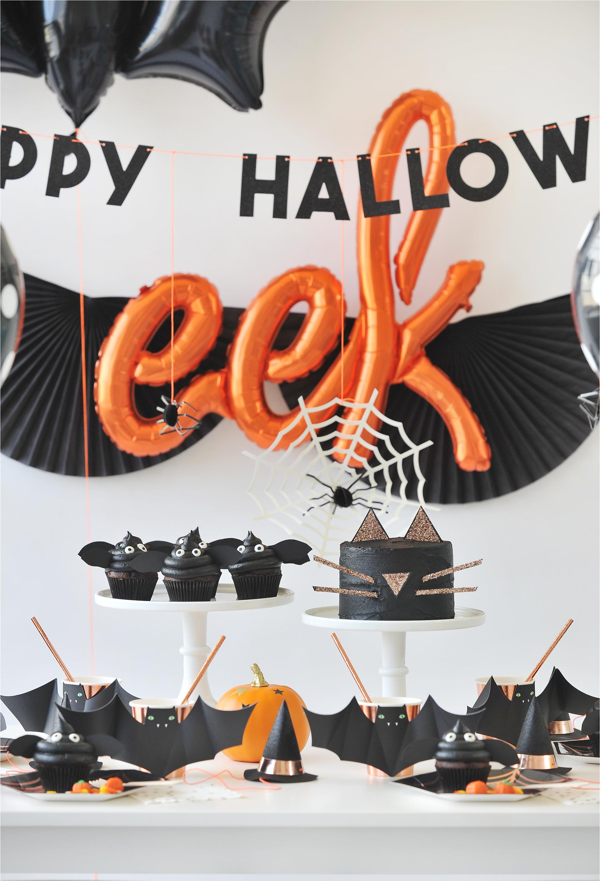 Kids Halloween Party Dessert Table - Project Nursery