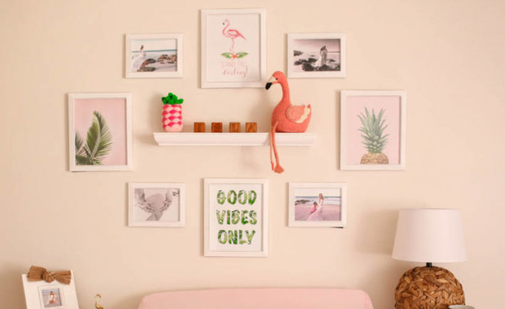 Hero Pink Flamingo Nursery