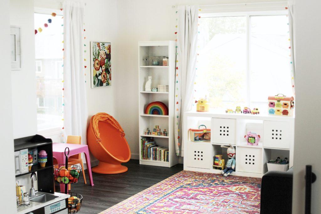 Whimsical Boho Playroom