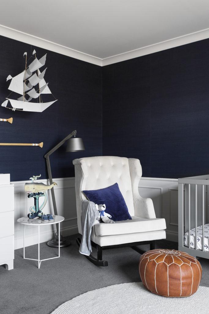Nautical Baby Boy Nursery Room Ideas: Felix Nautical Nursery