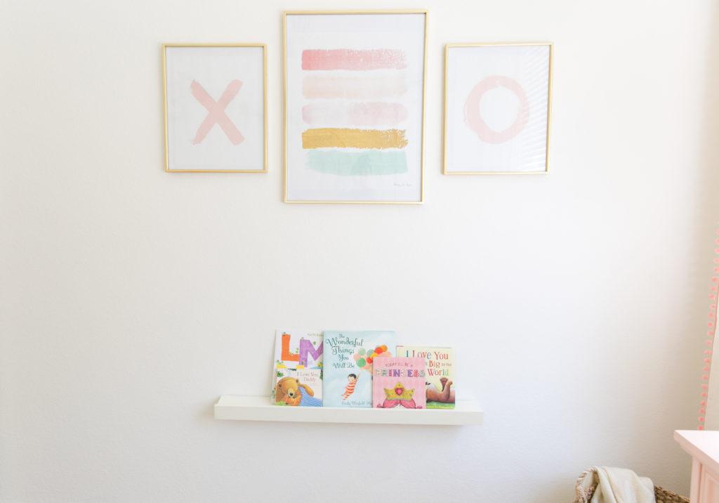 XO Nursery Wall Art
