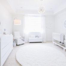 photo of All White Nursery