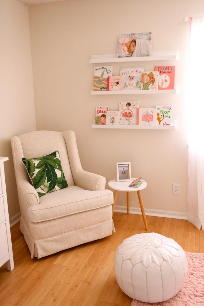 Isla S Tropical Escape Blush Amp Leaf Print Nursery