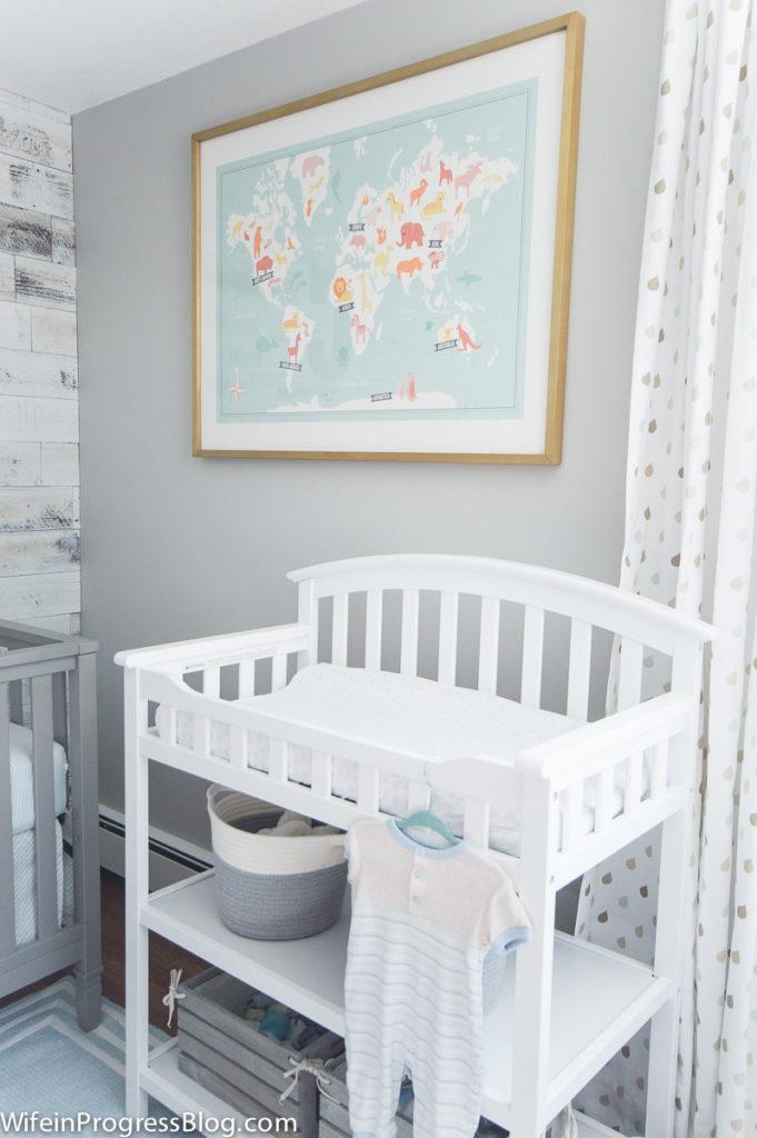 Modern Baby Boy Room: Modern Industrial Baby Boy Nursery