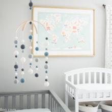 photo of Modern Industrial Baby Boy Nursery