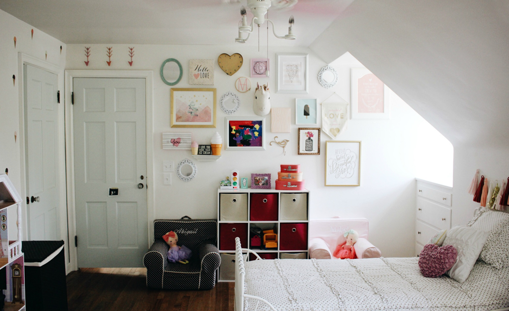 20 Whimsical Toddler Bedrooms For Little Girls: In The Shared Girls Room With A+ Life