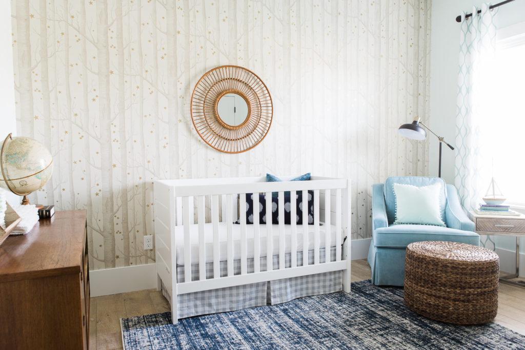 Vintage Modern Woodland Inspired Nursery
