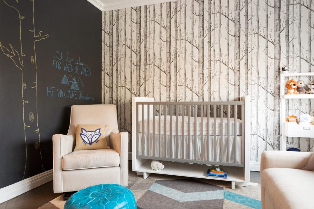 Lauren Behfarin's Modern Woodland Nursery